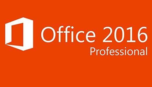 Microsoft Office Pro 2016